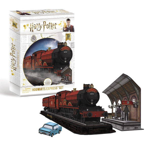 Harry Potter Hogwarts Express 3D Jigsaw Puzzle (181 Pieces)