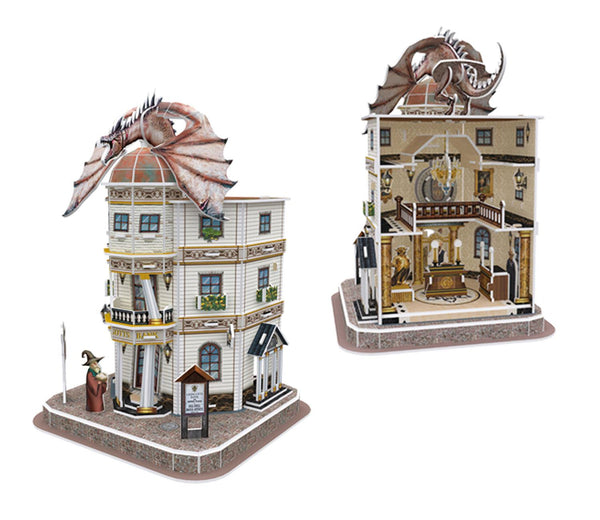 Harry Potter Diagon Alley Gringotts Bank 3D Jigsaw Puzzle