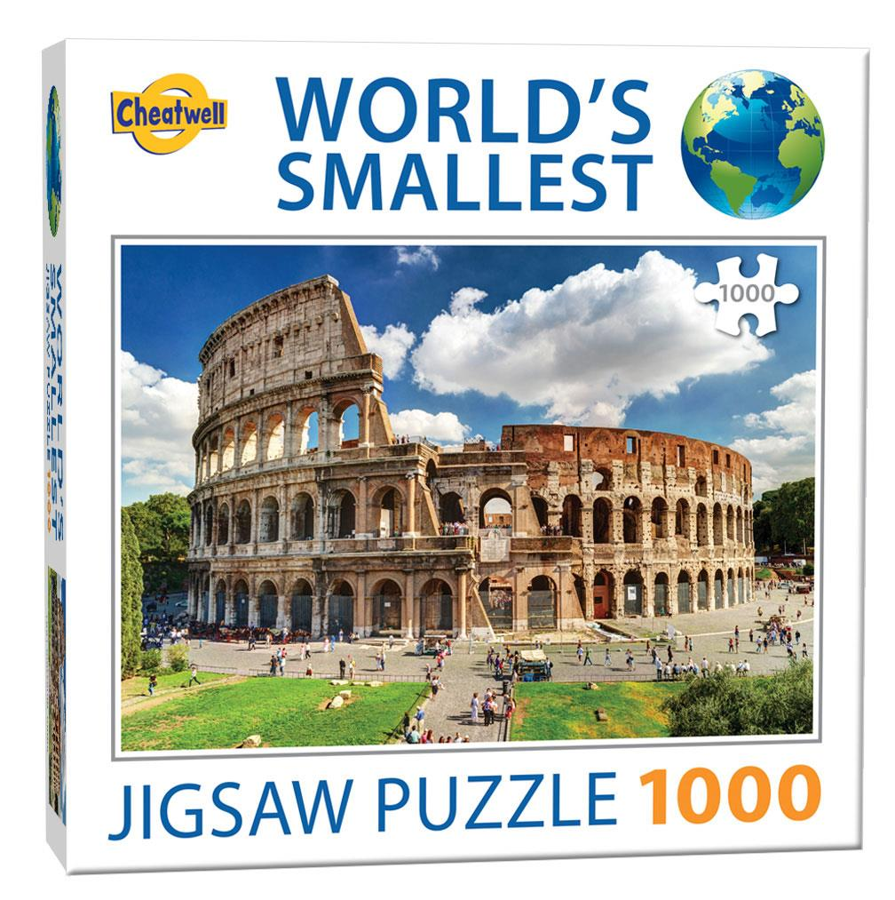 World's Smallest 1000 Piece Jigsaw - The Colosseum (1000 Pieces)