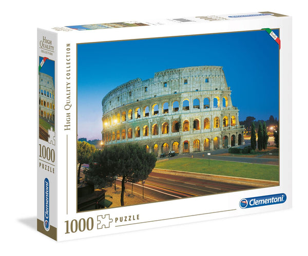 Clementoni Roma Colosseo High Quality Jigsaw Puzzle (1000 Pieces)