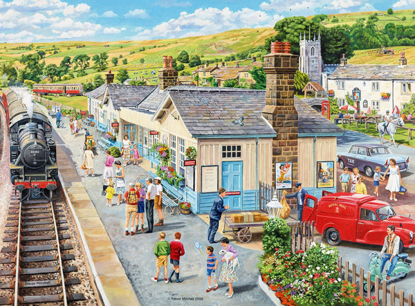 Ravensburger The Country Station Jigsaw Puzzle (100 XXL Extra Large Pieces)