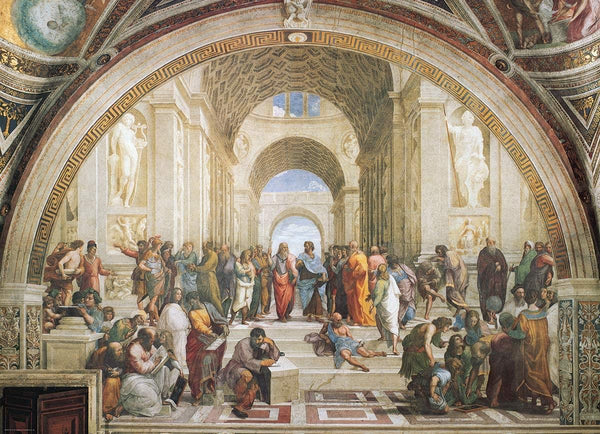 Eurographics School of Athens, Raphael Jigsaw Puzzle (1000 Pieces)