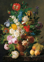 Clementoni Museum Van Dael Bowl Of Flowers High Quality Jigsaw Puzzle (1000 Pieces)