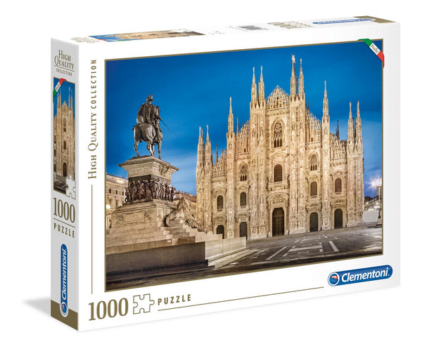 Clementoni Milan High Quality Jigsaw Puzzle (1000 Pieces)