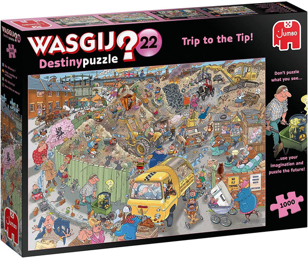Wasgij Destiny 22 A Trip to the Tip! Jigsaw Puzzle (1000 pieces)