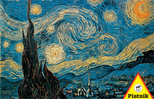 Piatnik Van Gogh - Starry Night Jigsaw Puzzle (1000 Pieces)