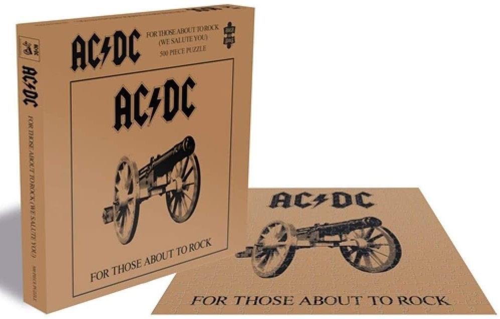 AC/DC For Those About To Rock Jigsaw Puzzle (500 Pieces)