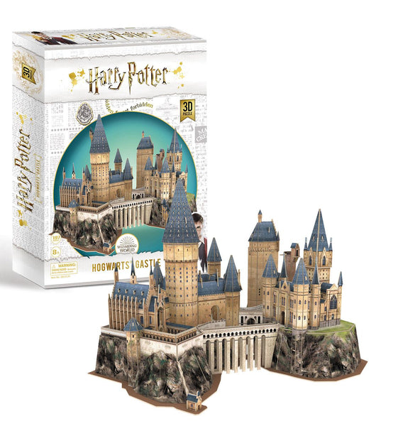 Harry Potter Hogwarts Castle 3D Model Jigsaw Puzzle (181 Pieces)