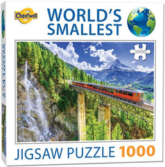 World's Smallest 1000 Piece Jigsaw Puzzle - Matterhorn (1000 Pieces)