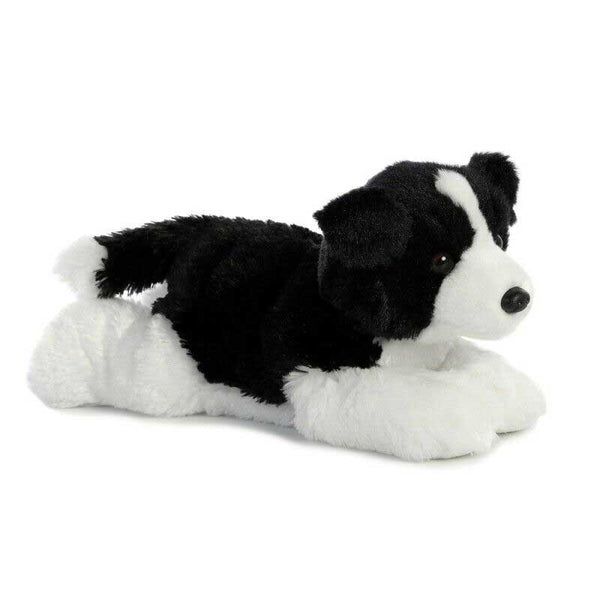 Aurora Flopsies - Border Collie Dog Soft Toy 30cm