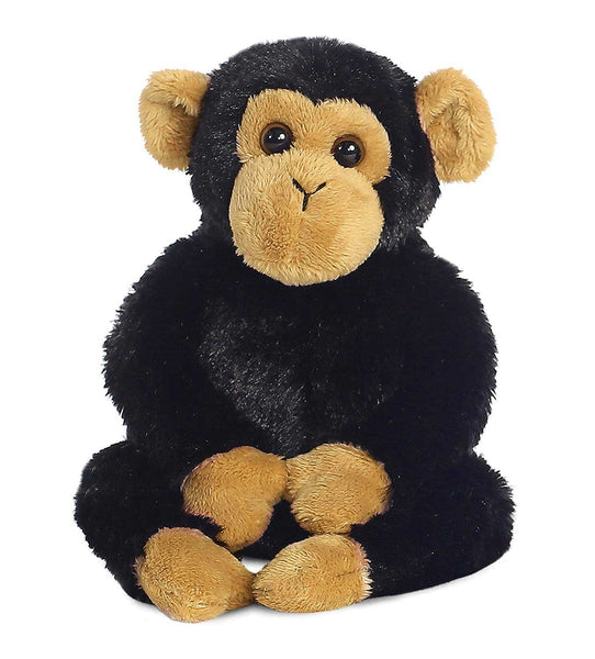 Aurora Mini Flopsies - Clyde Chimp Soft Toy 20cm