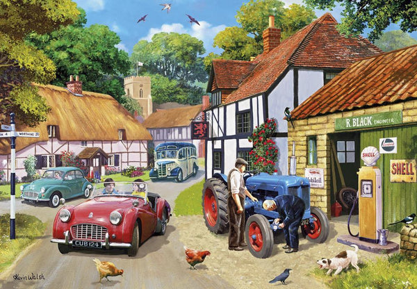 Gibsons Running Repairs Jigsaw Puzzles (100 XXL Pieces)