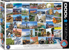 Eurographics Canada Globetrotter Jigsaw Puzzle (1000 Pieces)