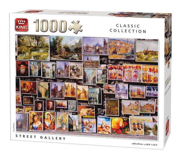 King Street Gallery Jigsaw Puzzle (1000 Pieces)