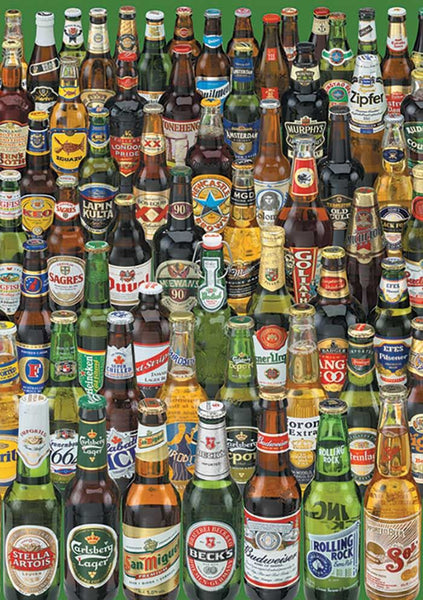 Educa Beers Jigsaw Puzzle (1000 Pieces)
