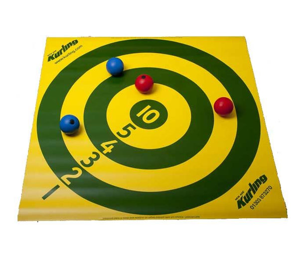 Number Target for New Age Kurling, Bowls and Boccia