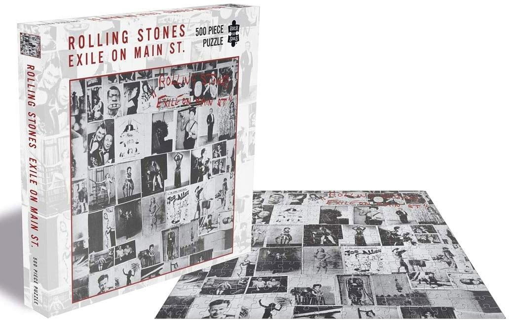 The Rolling Stones Exile On Main St. Jigsaw Puzzle (500 Pieces)