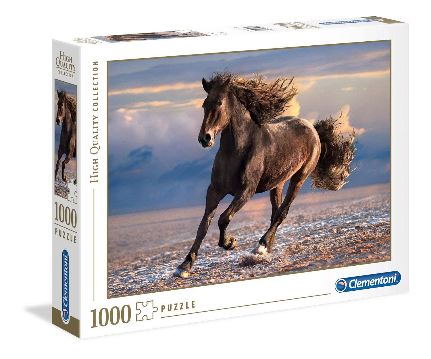 Clementoni Free Horse High Quality Jigsaw Puzzle (1000 Pieces)