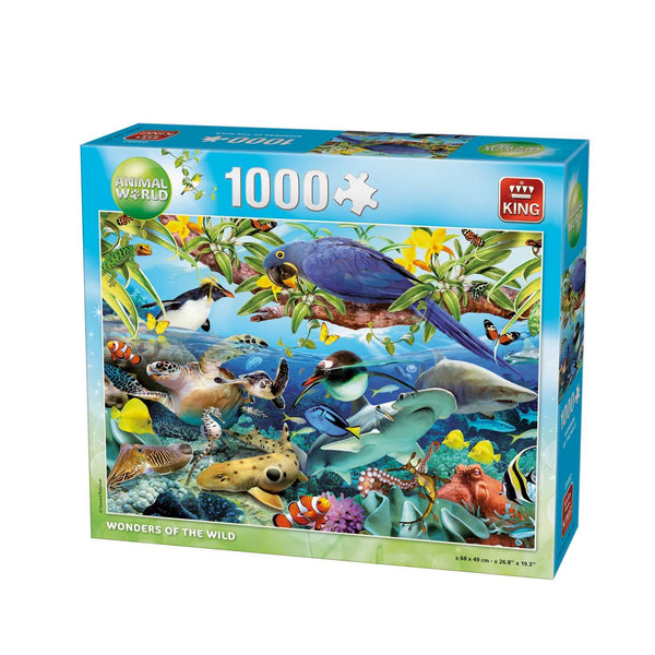 King Wonders Of The Wild Jigsaw Puzzle (1000 Pieces)