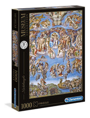 Michelangelo Universal Judgement Vatacani Museum Collection  Jigsaw Puzzle (1000 Pieces)