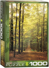Eurographics Forest Path Jigsaw Puzzle (1000 Pieces)