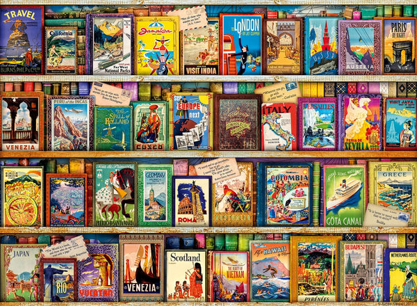 Ravensburger Vintage Travel Jigsaw Puzzle (500 Pieces)