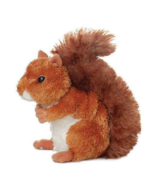 Aurora Mini Flopsies - Nutsie Squirrel Soft Toy 20cm