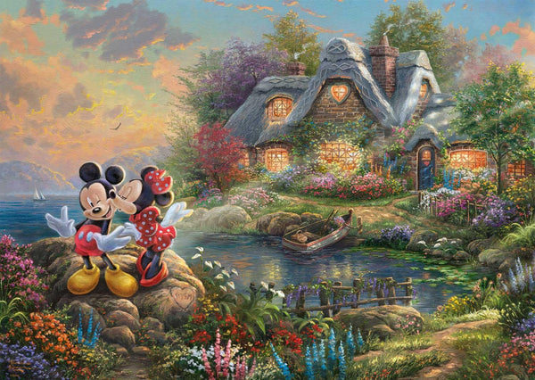 Schmidt Kinkade: Disney Mickey Mouse Jigsaw Puzzle (1000 pieces)