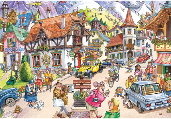 Wasgij Mystery 20 Mountain Mayhem! Jigsaw Puzzle (1000 Pieces)