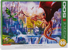 Eurographics Dragon Kingdom Jigsaw Puzzle (500 XL Large Pieces)