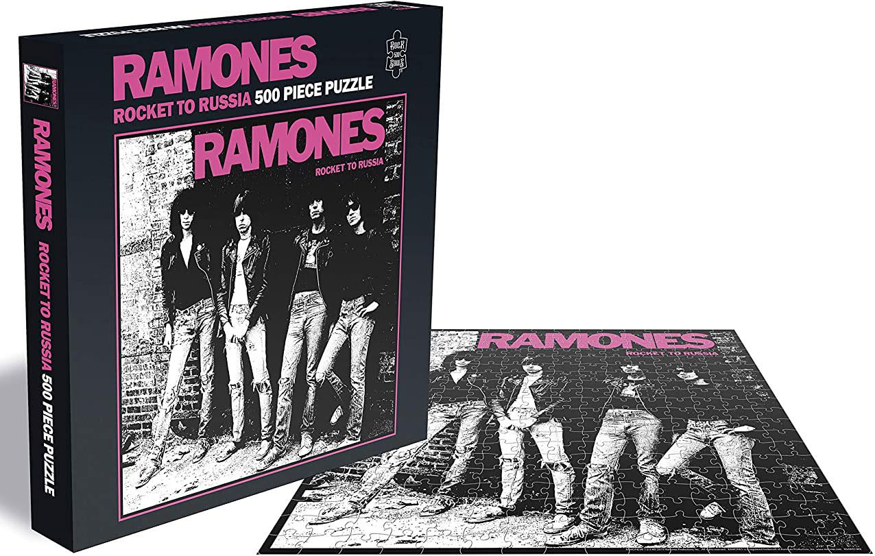 Ramones Rocket To Russia Jigsaw Puzzle (500 Pieces)