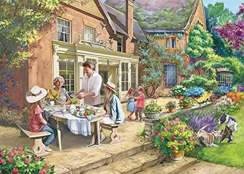 Falcon Deluxe Country Retreat Jigsaw Puzzle (1000 Pieces)