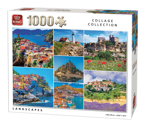 King Landscapes  Jigsaw Puzzle (1000 Pieces)