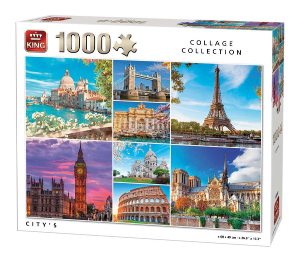 King Cities  Jigsaw Puzzle (1000 Pieces)
