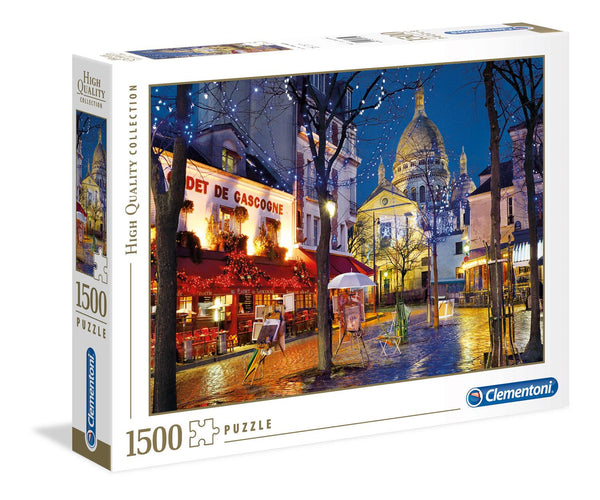 Clementoni Paris Montmartre High Quality Jigsaw Puzzle (1500 Pieces)