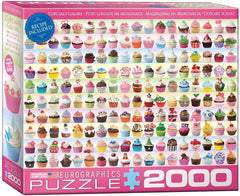 Eurographics Cupcakes Galore Jigsaw Puzzle (2000 Pieces)