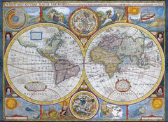 Eurographics Antique World Map Jigsaw Puzzle (1000 Pieces)