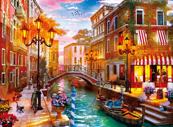 Clementoni Sunset Over Venice Jigsaw Puzzle (500 Pieces)