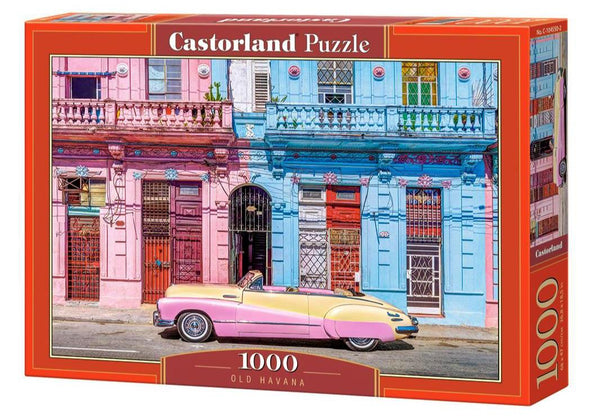 Castorland Old Havana Jigsaw Puzzle (1000 Pieces)