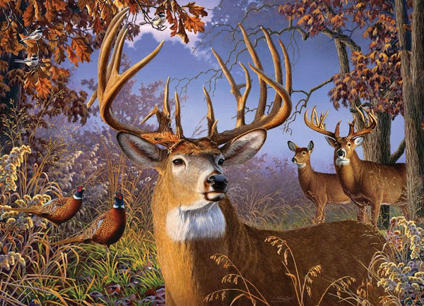 Cobble Hill Deer and Pheasant Jigsaw Puzzle (500 Pieces)