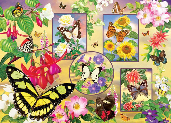 Cobble Hill Butterfly Magic Jigsaw Puzzle (500 Pieces)