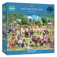 Gibsons Shetland Pony Club Jigsaw Puzzle (1000 Pieces)