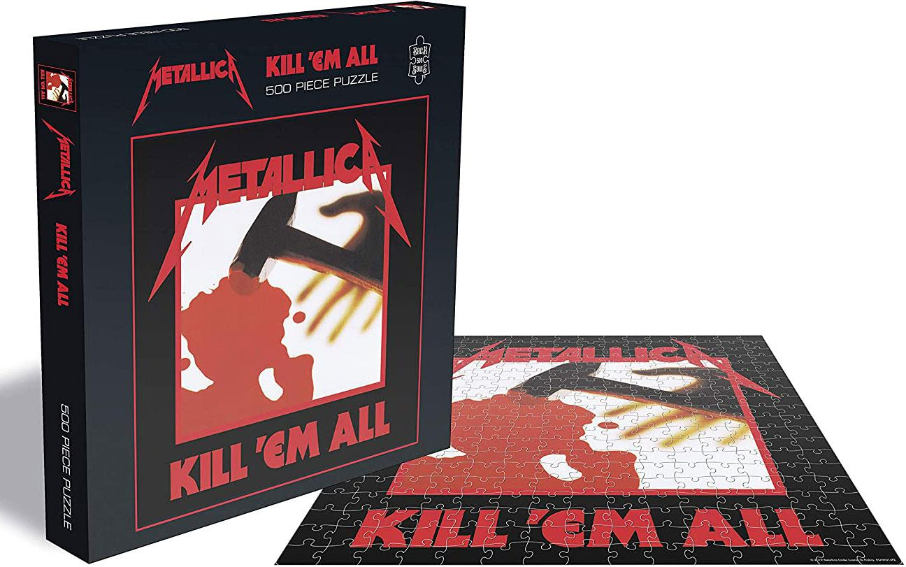 Metallica Kill 'Em All Jigsaw Puzzle (500 Pieces)