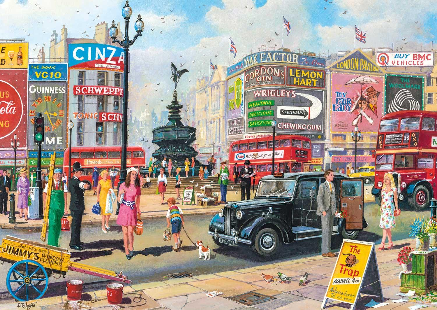 Gibsons Piccadilly Jigsaw Puzzle (250 XL Pieces)