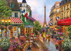 Clementoni Flowers in Paris High Quality Jigsaw Puzzle (1000 Pieces)