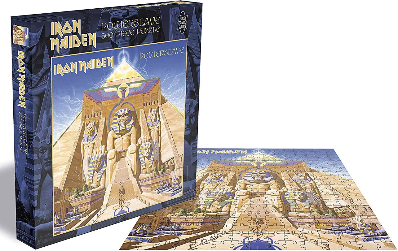 Iron Maiden Powerslave Jigsaw Puzzle (500 Pieces)