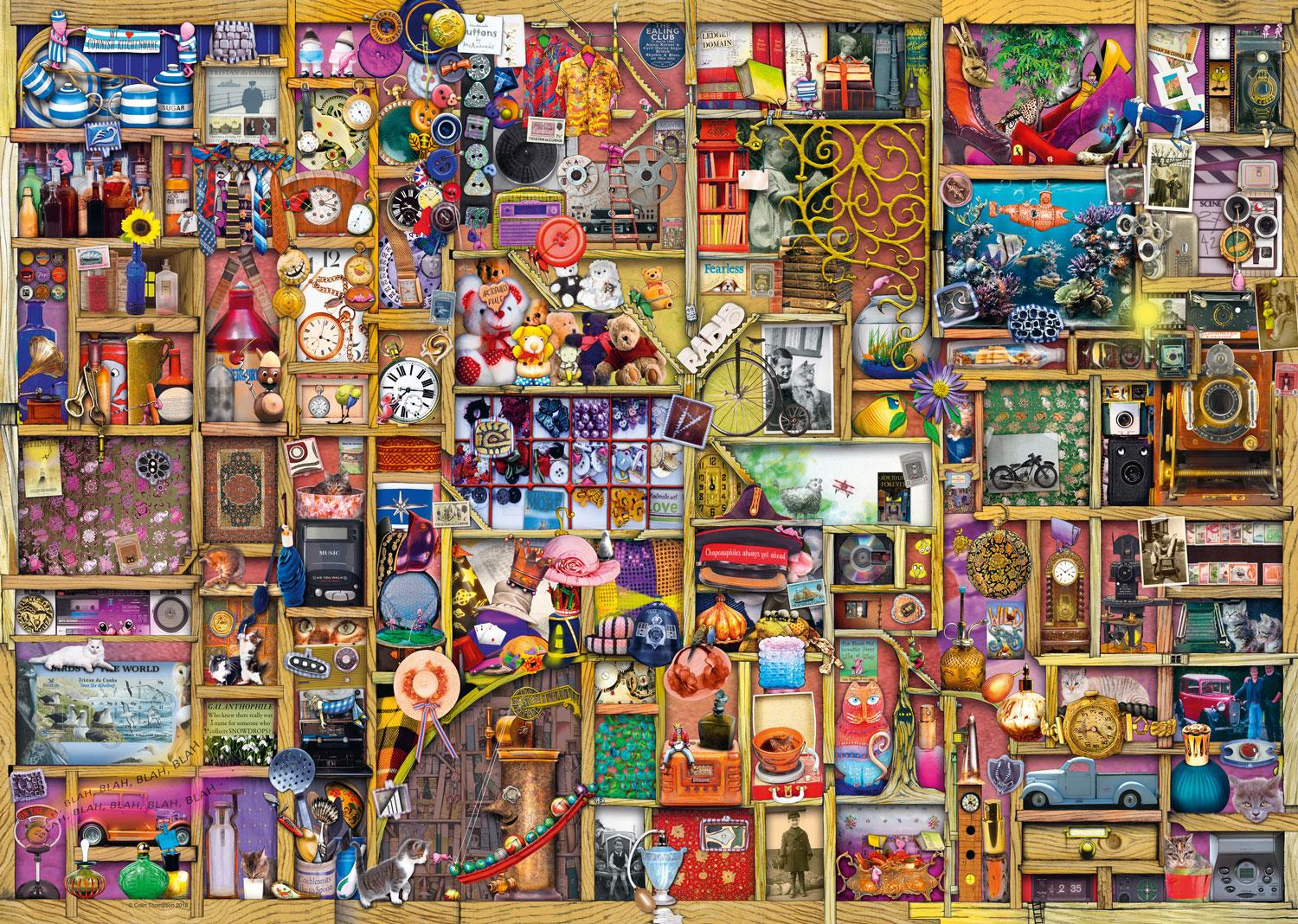 Ravensburger The Curious Cupboard No.6 - The Collector's Cupboard Jigsaw Puzzle (1000 Pieces)