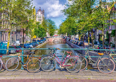 Schmidt Spring Time in Amsterdam Jigsaw Puzzle (500 Pieces)
