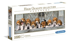 Clementoni Beagles Panorama High Quality Jigsaw Puzzle (1000 Pieces)