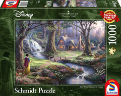 Schmidt Kinkade: Disney Snow White Jigsaw Puzzle (1000 pieces)